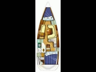 Bavaria Cruiser 46 (CBM Realtime) - Zadar - Charter plavidlá Chorvátsko