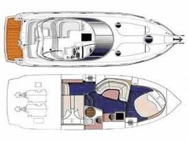 Cranchi Zaffiro 36 (CBM Realtime) - Punat - Charter hajókHorvátország