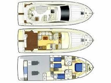 Ferretti 460 (CBM Realtime) - Punat - Charter hajókHorvátország