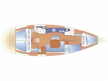 Bavaria 44 (CBM Realtime) - Punat - Charter boten Kroatië