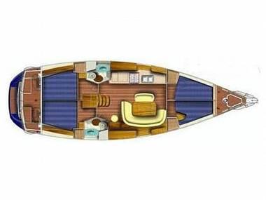 Sun Odyssey 45 (CBM Realtime) - Skradin - Charter ships Croatia