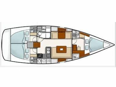 Hanse 400 (CBM Realtime) - Pula - Charter plavidlá Chorvátsko
