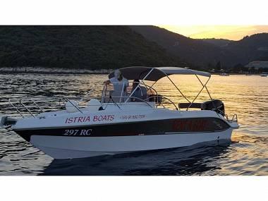 Bluline 23 Sundeck (CBM Realtime) - Rabac - Charter embarcation Croatie