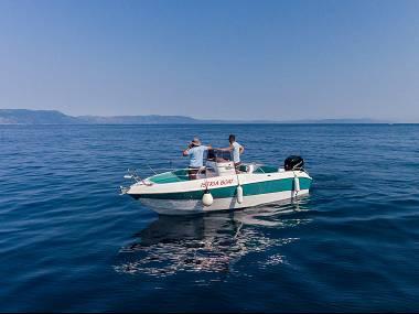 Bluline 21 Open (CBM Realtime) - Rabac - Charter embarcation Croatie