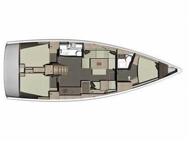 Dufour 412 Grand large (CBM Realtime) - Primosten - Charter hajókHorvátország