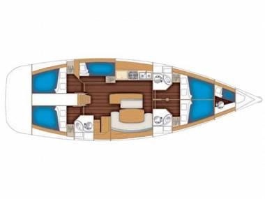 Cyclades 50.5 (CBM Realtime) - Rogac - Charter hajókHorvátország