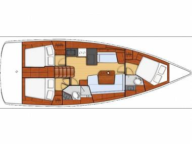 Oceanis 41.1 (CBM Realtime) - Kastel Gomilica - Charter navi Croazia
