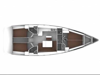 Bavaria Cruiser 46 (CBM Realtime) - Biograd - Charter hajókHorvátország