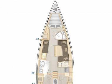 Hanse 418 (CBM Realtime) - Pula - Charter hajókHorvátország