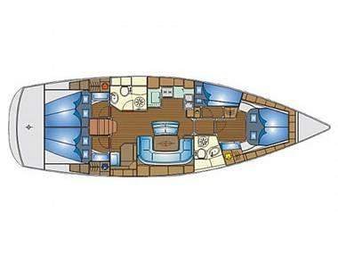 Bavaria 46 Cruiser (CBM Realtime) - Primošten - Charter plavidlá Chorvátsko