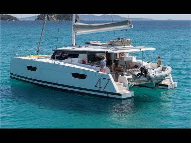 Fountaine Pajot Saona 47 (CBM Realtime) - Trogir - Charter ships Croatia