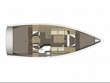 Dufour 360 GL (CBM Realtime) - Sukosan - Charter ships Croatia