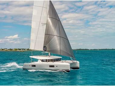 Lagoon 42 (CBM Realtime) - Split - Charter hajókHorvátország