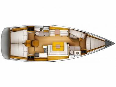 Sun Odyssey 449 (CBM Realtime) - Sukosan - Charter hajókHorvátország