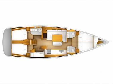 Sun Odyssey 519 (CBM Realtime) - Kastel Gomilica - Charter embarcation Croatie