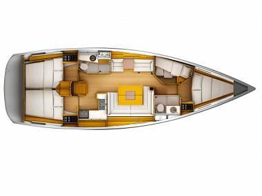Sun Odyssey 449 (CBM Realtime) - Primosten - Charter boten Kroatië