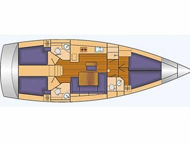 Bavaria Cruiser 46 (CBM Periodic) - Sukosan - Charter navi Croazia