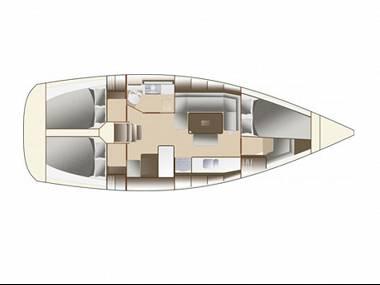 Dufour 380 (CBM Realtime) - Zadar - Charter boten Kroatië