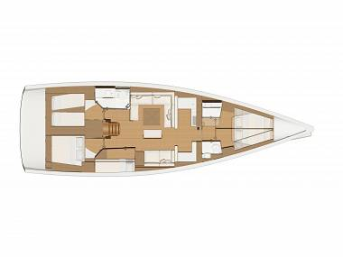 Dufour 520 GL (CBM Realtime) - Rogoznica - Charter boten Kroatië