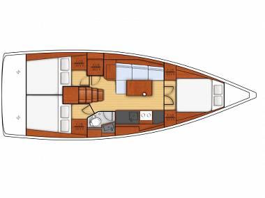 Oceanis 38.1 (CBM Realtime) - Dubrovnik - Charter boten Kroatië