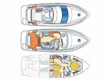 Azimut 39 (CBM Realtime) - Pirovac - Charter boten Kroatië