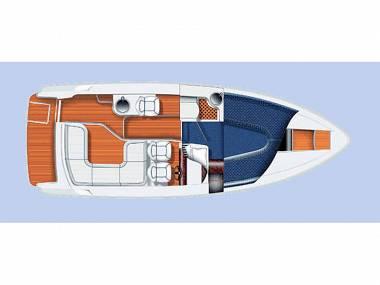 Aquador 26 HT (CBM Realtime) - Pirovac - Charter boten Kroatië