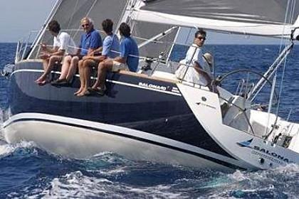 Salona 40 (code:PLA 422) - Kastel Gomilica - Charter navi Croazia