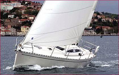 Delphia 40 (code:PLA 517) - Split - Charter ships Croatia
