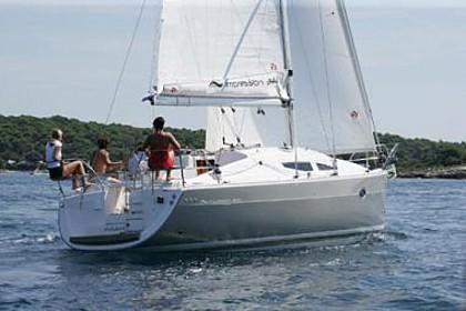 Elan 344 Impression (code:PLA 546) - Kastel Gomilica - Charter hajókHorvátország