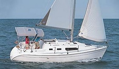 Hunter 306 (code:PLA 560) - Split - Czarter statki Chorwacja