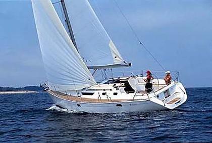Jeanneau SO 42,2 (code:PLA 569) - Kastel Gomilica - Charter hajókHorvátország