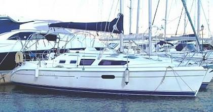 Hunter 326 (code:PLA 584) - Makarska - Charter hajókHorvátország