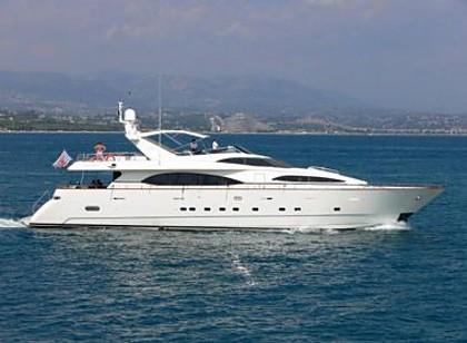 Azimut 100 Jumbo (code:PLA 666) - Kastel Gomilica - Charter Boote Kroatien