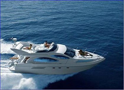 Azimut 46 (code:PLA 669) - Kastel Gomilica - Charter embarcation Croatie