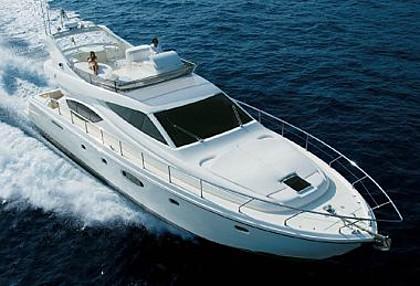 Ferretti 550 (code:PLA 679) - Split - Charter boten Kroatië