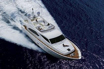 Ferretti 880 (code:PLA 699) - Split - Charter plovila Hrvaška