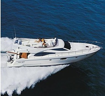 Ferretti 591 (code:PLA 734) - Split - Charter embarcation Croatie