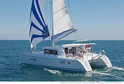 Lagoon 421 (code:PLA 774) - Trogir - Charter hajókHorvátország