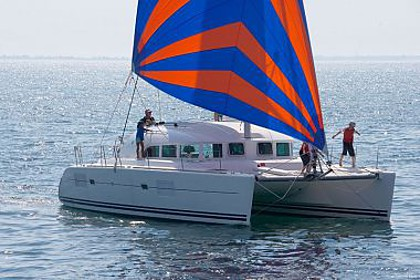 Lagoon 380 (code:PLA 776) - Marina - Charter ships Croatia