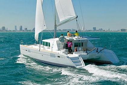 Lagoon 440 (code:PLA 779) - Vinisce - Charter hajókHorvátország