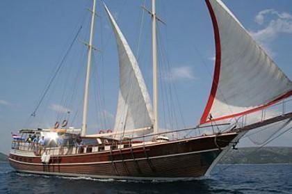 Gardelin (code:PLA 798) - Split - Charter boten Kroatië