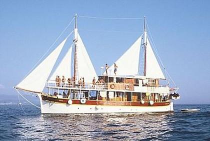 Vrgada (code:PLA 810) - Split - Charter boten Kroatië