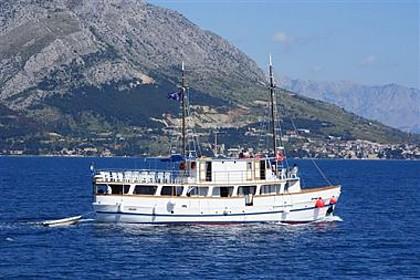Dalmatinac (code:PLA 812) - Split - Charter plavidlá Chorvátsko