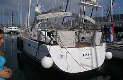 Hanse 540 (code:NRE 6) - Kastel Gomilica - Charter Boote Kroatien