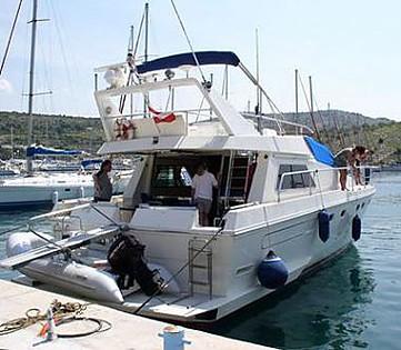 Ferretti 49 (code:CRY 18) - Primošten - Charter plovila Hrvatska