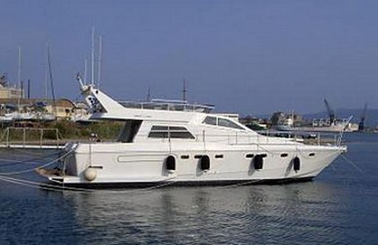 Ferretti 52 (code:CRY 24) - Primosten - Charter Boote Kroatien