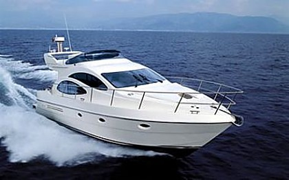 Azimut 42 (code:CRY 41) - Sibenik - Charter boten Kroatië