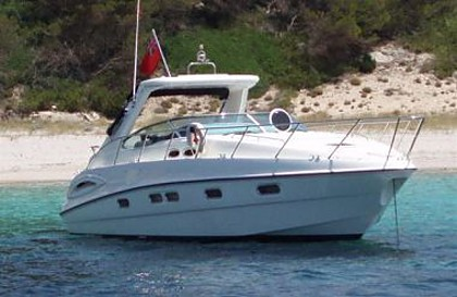 Sealine S 38 (code:CRY 65) - Rogoznica - Charter navi Croazia