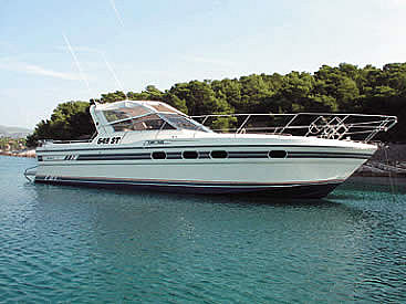 Princess 36 Riviera (code:CRY 68) - Split - Charter embarcation Croatie