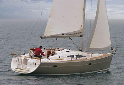 Elan 384 Impression (code:CRY 107) - Kastel Gomilica - Charter hajókHorvátország